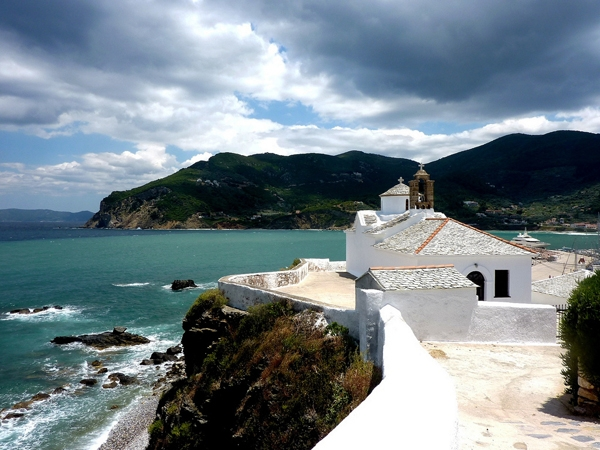 Sightseeing, Evlalia Skopelos island studios apartments hotels rooms accommodation vacations Greece